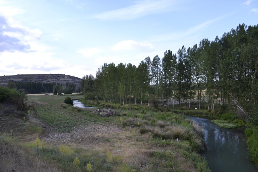 River Riaza Segovia